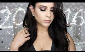 Rose Gold Glam   NYE Makeup Look (Full Face Tutorial)