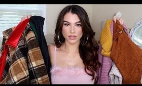 Holiday Party Dress & Fall Clothing Try On Haul / Zaful Review