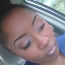 A Matte, Neutral Eye W/ A Glossy Neutral Lip