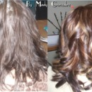 Before and After Color and Highlights