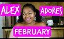 Alex Adores February