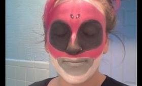 Pink Ranger Makeup