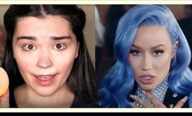 Sally Walker makeup inspired Iggy Azalea