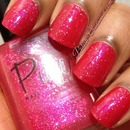 Pure Nail Lacquer - Classy AnnMarie layered over Sinless