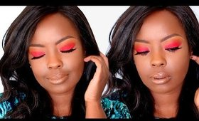 Where Have I Been?? And Red Eyeshadow How-To (Beginner-friendly) | Bellesa Africa