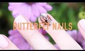 Butterfly Nail Art!