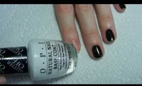 O.P.I Glitter Off Natural Nail Peel Off Base Coat Demo