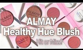 ALMAY Healthy Hue Blush Review & Demo of each shade