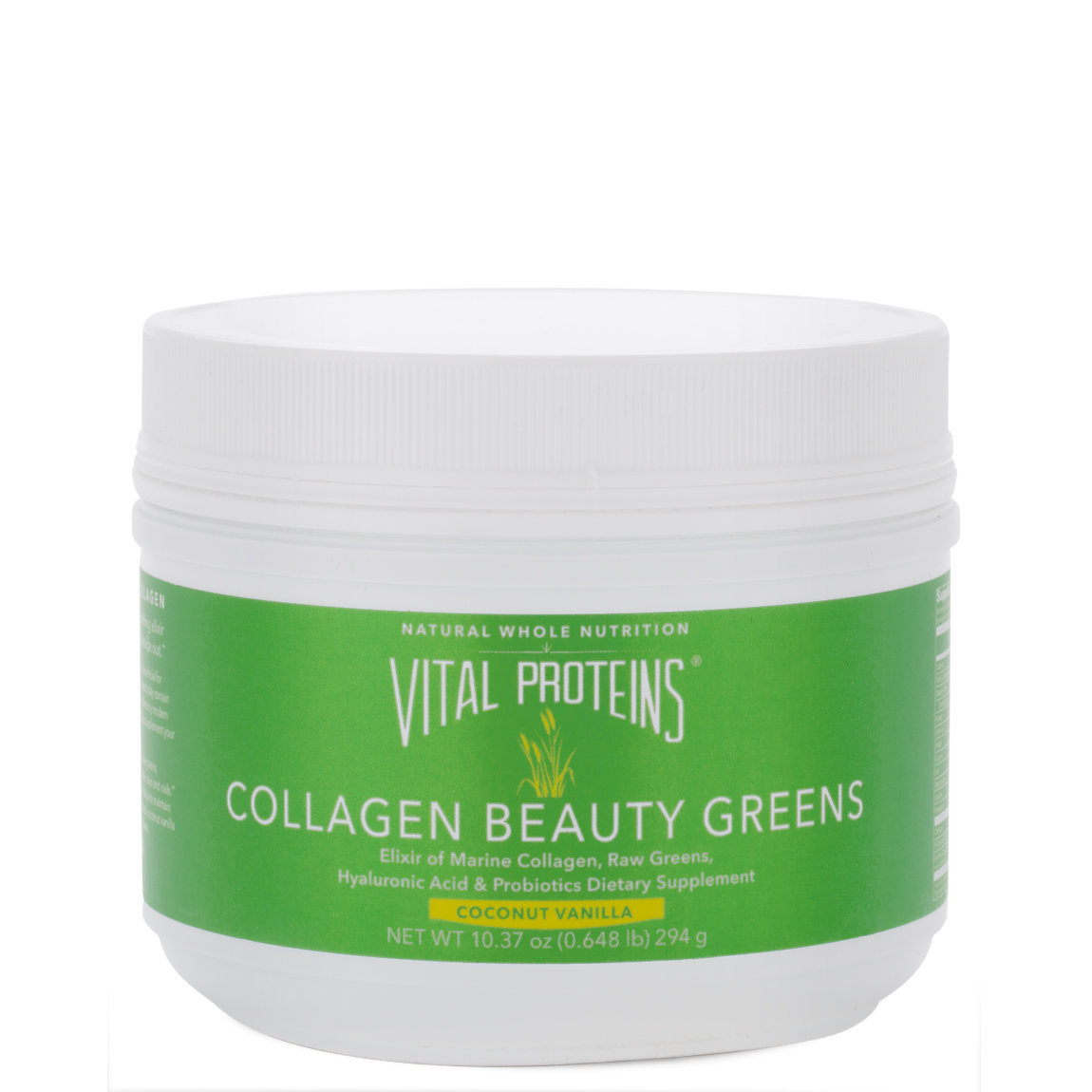 Vital Proteins Collagen Beauty Greens product swatch.