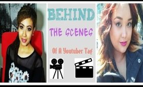 Behind The Scenes Youtuber Tag! /Collab With Makeupbycarrisa