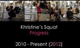Xtine's Squat Progress