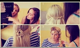 Help us pick a hairstyle for Aleks :) - 3 updo tutorials for extensions
