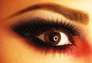 Red black... Halloween? :P