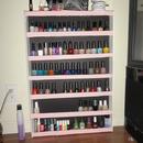 D.Y.I. nail polish rack