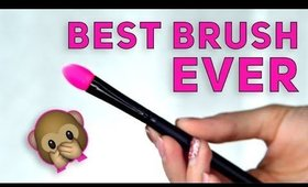 BEST MAKEUP BRUSH For Shimmer Eyeshadows ♡ Affordable AF Aliexpress Silicone Brushes