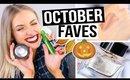 OCTOBER BEAUTY FAVORITES 2015