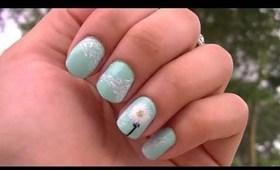 Blowing Dandelion Nails