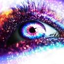 Sparkiling eye