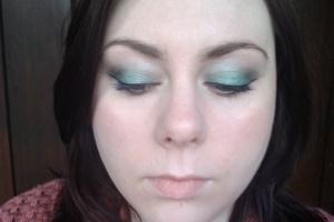 Green smoky lid using MUA