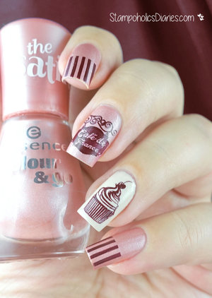 http://stampoholicsdiaries.com/2015/11/07/blog-birthday-and-cupcake-nails-with-essence-opi-konad-and-bundle-monster/
