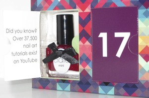 This is #1 from the 2012 Ciate Nails advent box set.