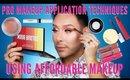 Pro Makeup Application Techniques Using Affordable Makeup | mathias4makeup