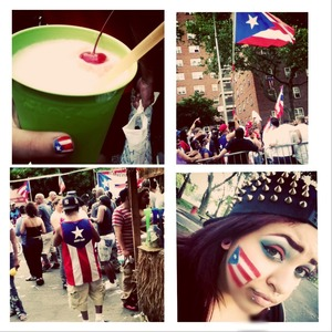 proud to be part Puerto Rican.
