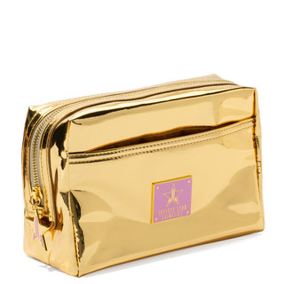Reflective Makeup Bag Gold