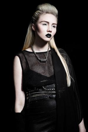Photographer: Birta Rán Model: Una Hallgríms Makeup: Me Hair and Stylist: Edda Laufdal