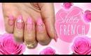 Spring French Nails| DIY Sheer Polish ♡