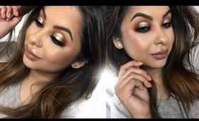 Summer Makeup Tutorial | Foiled Cut Crease