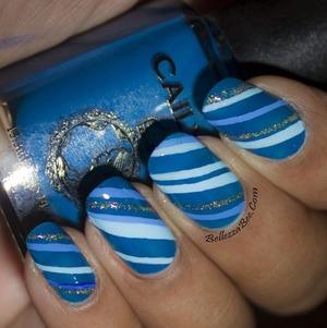 Blog: http://www.bellezzabee.com/2014/02/busygirlnails-winter-nail-art-challenge_5.html