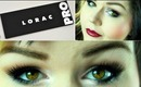 TUTORIAL : Easy Neutral Prom Makeup Look With Lorac Pro Palette and Two Lip Options