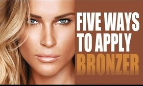 5 DIFFERENT WAYS TO APPLY BRONZER (SUMMER GLOW TUTORIAL)