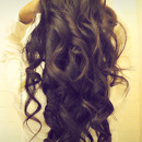 Romantic, Soft Curls for Long Hair Tutorial - Valentine's Day Hairstyle