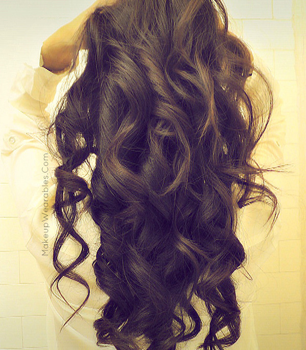 Romantic Soft Curls For Long Hair Tutorial Valentine S