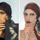 Me as Twiggy as a Biba girl