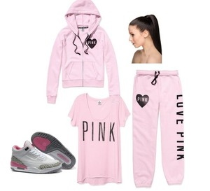 Vicki's secrets ..... Pink supporting ,cancer awareness.... By wearing pink, or posting anything pink,