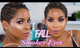 FALL MAKEUP | Purple INTENSE Smokey Eye | BeautyByLee