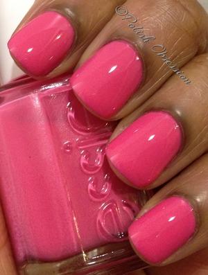 Lovely barbie pink creme!