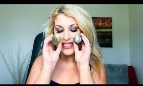DUPE ALERT - Marc Jacobs See-Quins Glam Glitter Shadow VS Colourpop Super Schock Shadow