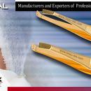 Manufacturers & Exporters Eyebrow Tweezers-Automatic Tweezers-Fancy Tweezers-New Designs Tweezers-Watch Maker Tweezers-Eyebrow F