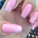 Natural pink nails 🌸