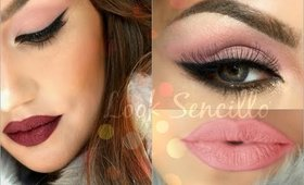 Look FACIL Y RAPIDO + 3 LABIALES (Quick Done Look!)