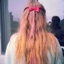 Hair chalk :)