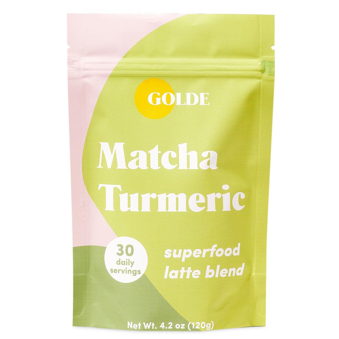 Golde Matcha Turmeric Latte Blend alternative view 1 - product swatch.