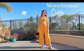 Monochromatic Outfit Ideas | 2020