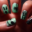 Glow in the Dark Mani