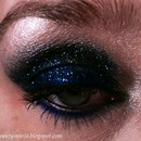 Black and Blue glitter