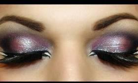 Exotic Arab Makeup Smokey Eyes (inexpensive products) المكياج العربي